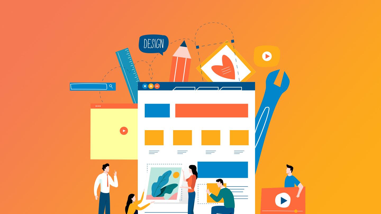 Tendências de web design para 2018