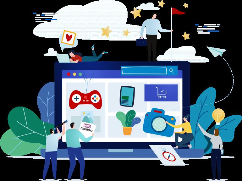 loja virtual com a plataforma WordPress