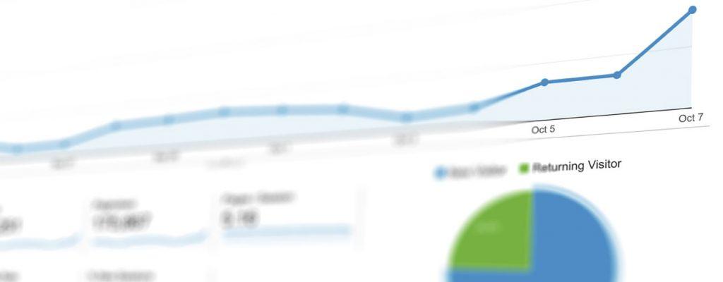 Análise de dados do site Google Analytics