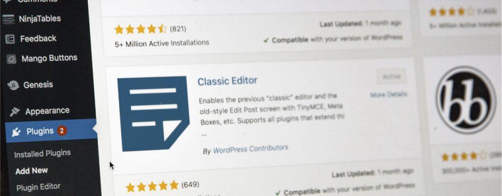 Como é a estrutura de um plugin WordPress?